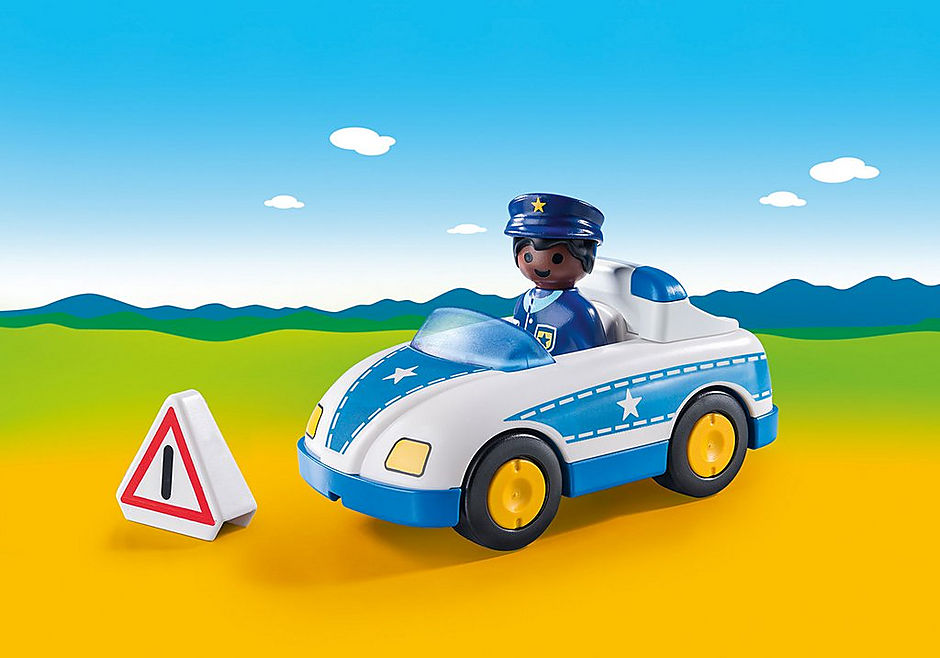 9384 Polizeiauto detail image 1
