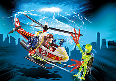 9385 Venkman avec hélicoptère