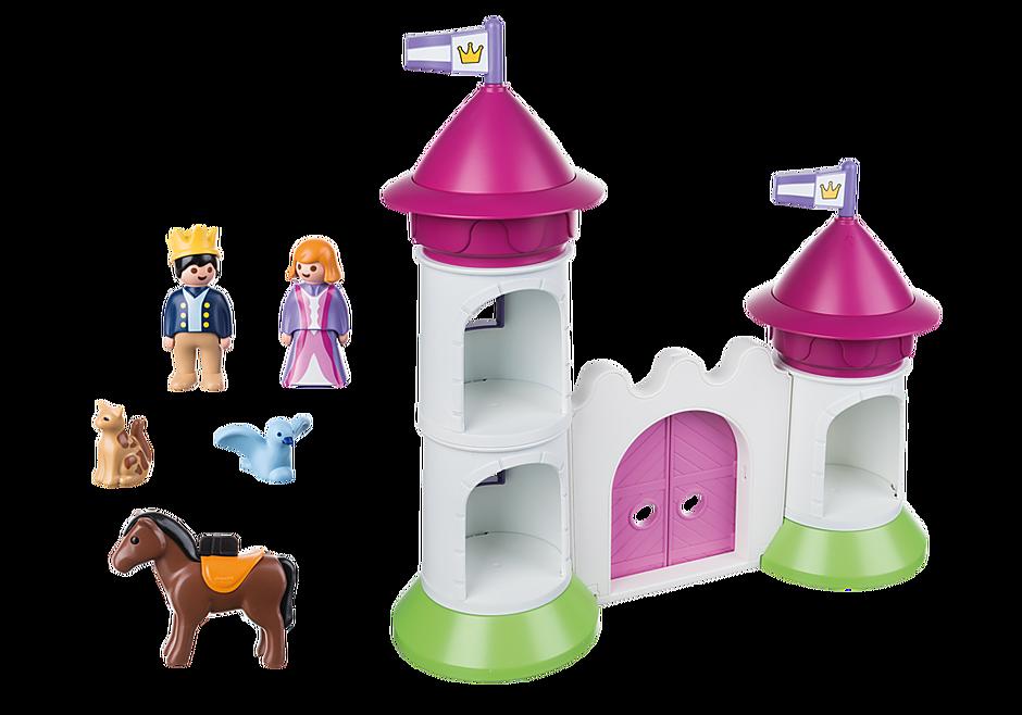 http://media.playmobil.com/i/playmobil/9389_product_box_back/Schlösschen mit Stapelturm