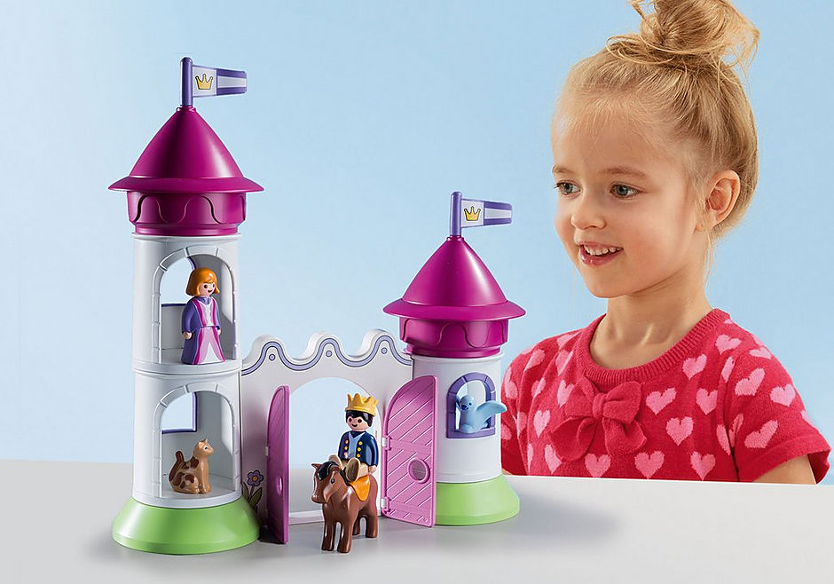 9389 1.2.3 Castillo con Torre Apilable detail image 5