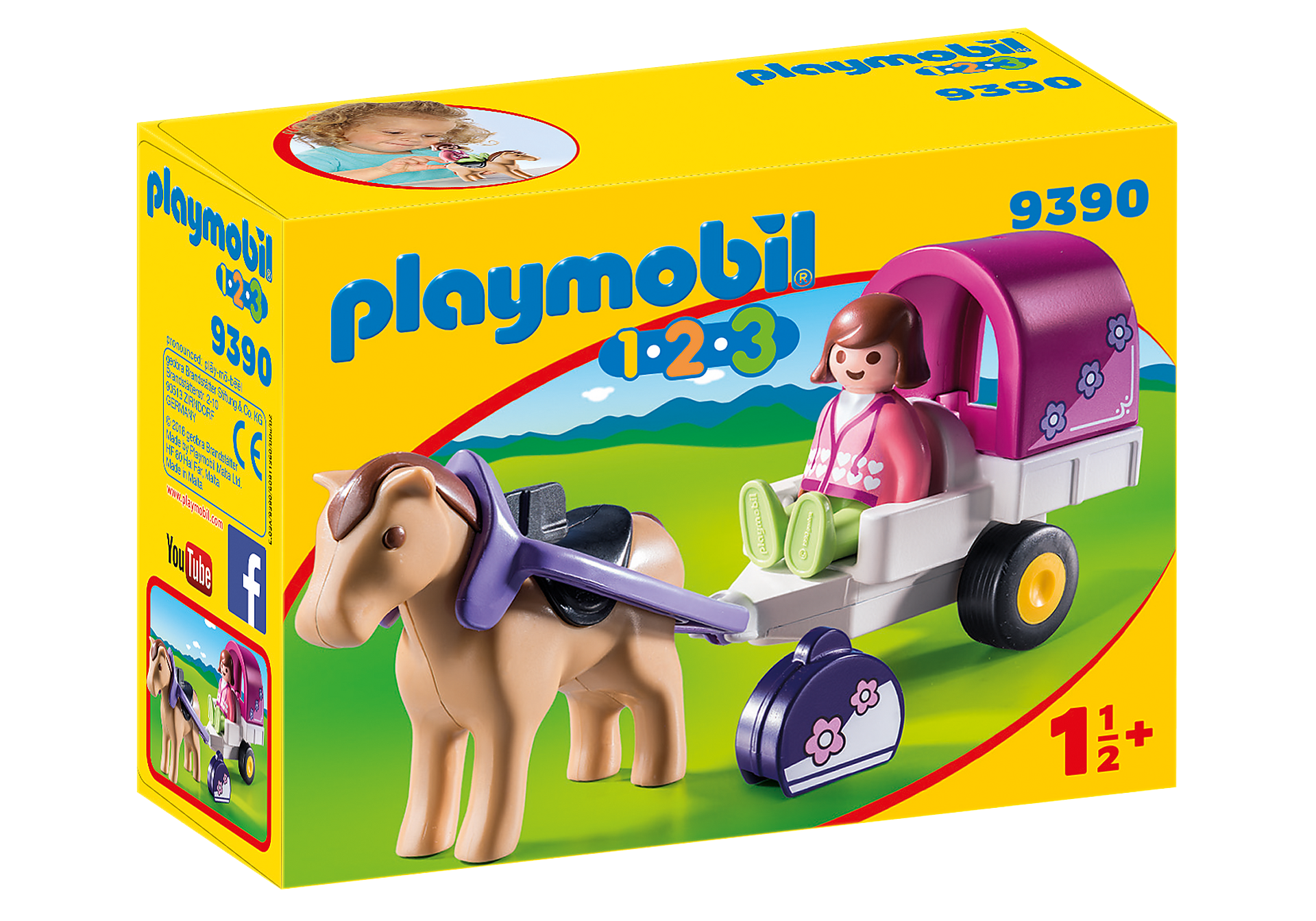 9390 Carrozza con cavallo 1.2.3 zoom image3