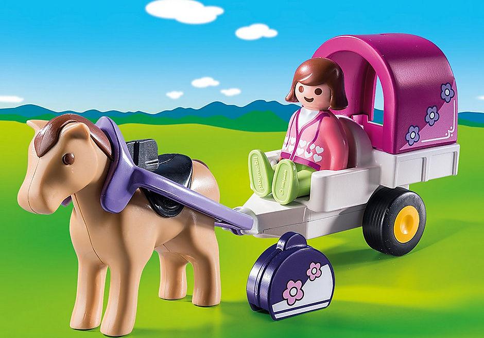9390 Carrozza con cavallo 1.2.3 detail image 1