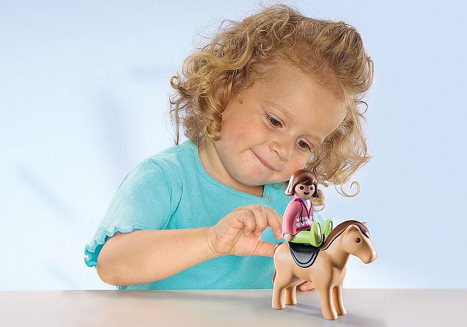 9390 Carrozza con cavallo 1.2.3 detail image 5