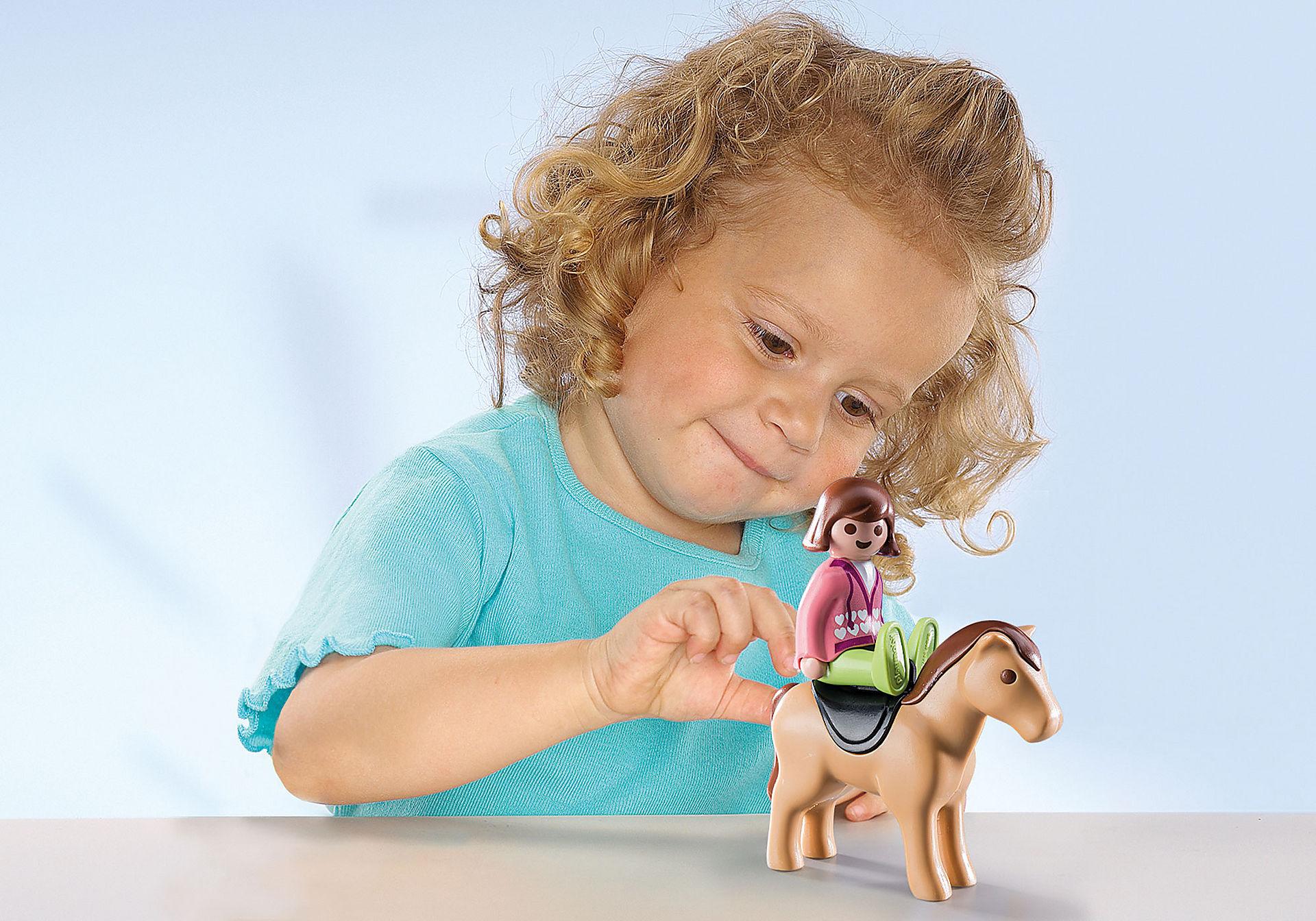 9390 Carrozza con cavallo 1.2.3 zoom image5