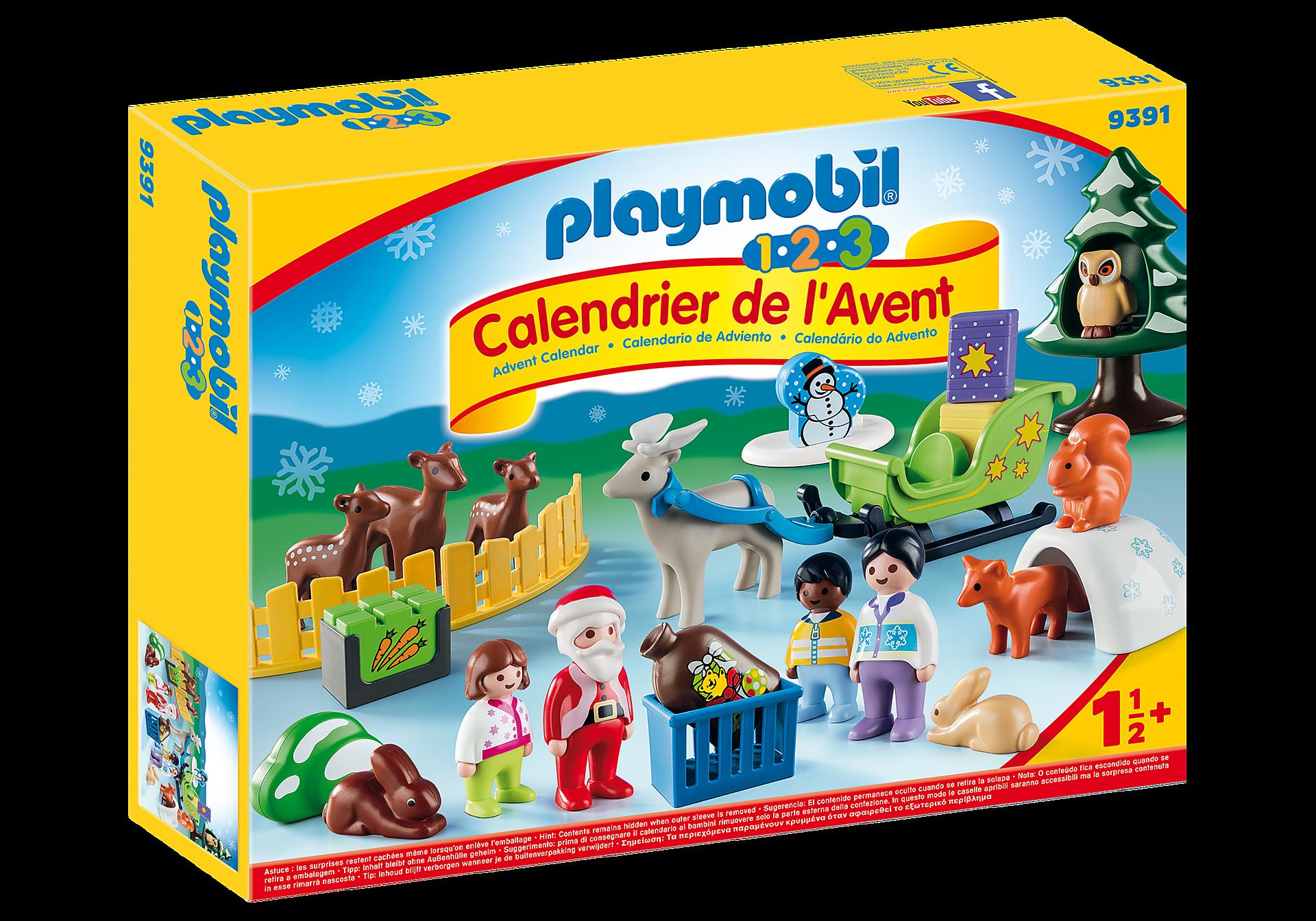 http://media.playmobil.com/i/playmobil/9391_product_box_front/Calendrier de l'Avent 1.2.3 'Père Noël et animaux de la forêt'