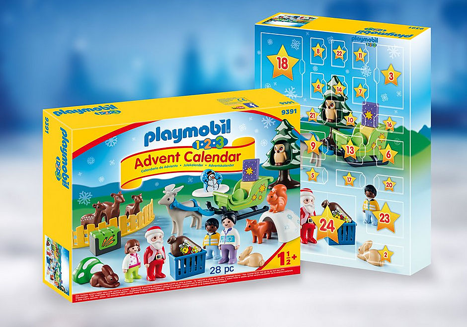 9391 1.2.3 Advent Calendar - Christmas in the Forest  detail image 1
