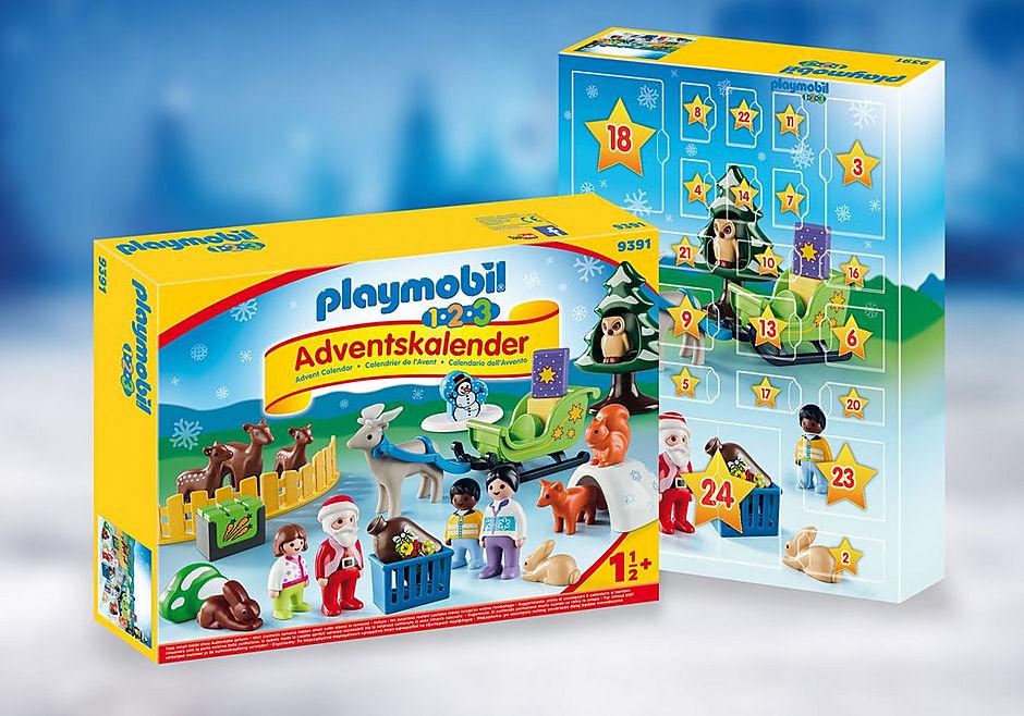 Playmobil Weihnachtskalender.1 2 3 Advent Calendar Christmas In The Forest 9391 Playmobil