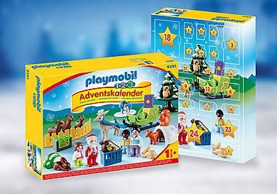 9391_product_detail/Adventskalender 'Kerstmis in het 1.2.3 dierenbos'