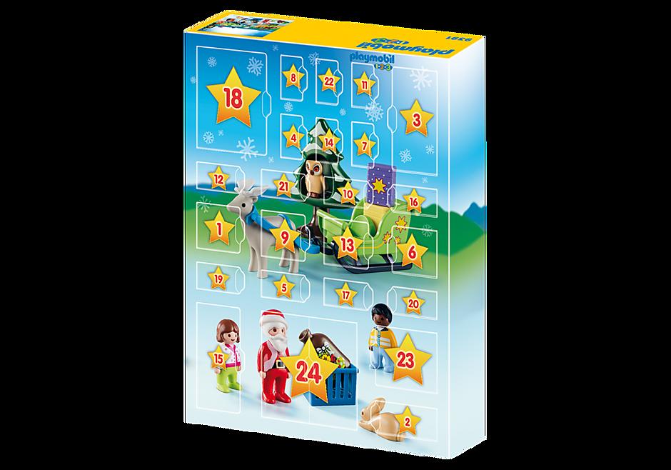 http://media.playmobil.com/i/playmobil/9391_product_extra2/Adventskalender 'Kerstmis in het 1.2.3 dierenbos'