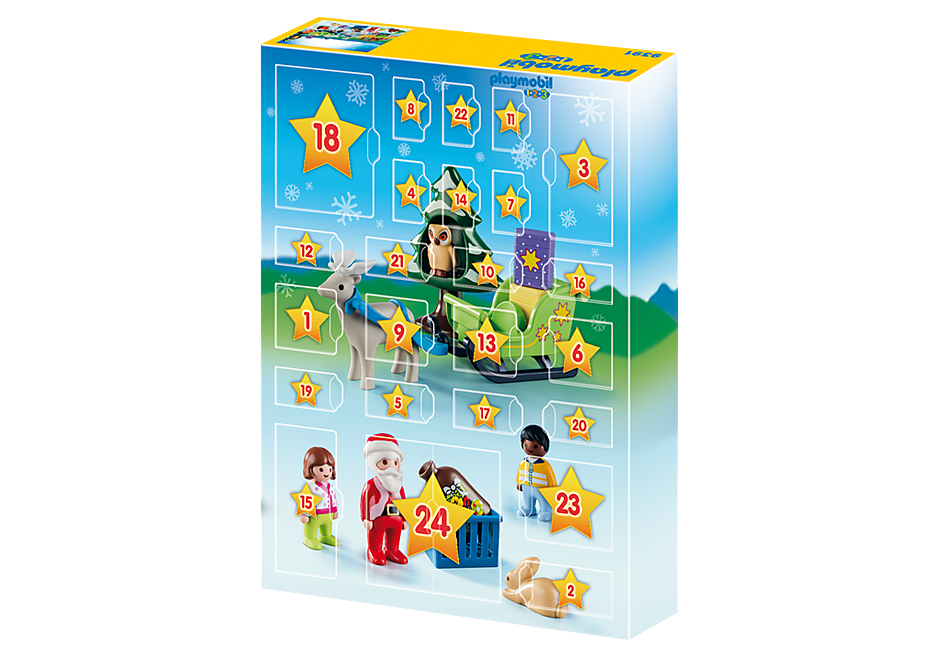 http://media.playmobil.com/i/playmobil/9391_product_extra2/Calendário do Advento - 'Natal na Floresta'