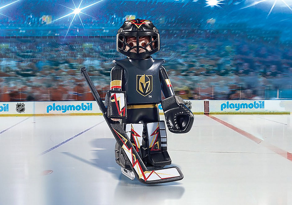 san francisco 57cb3 03387 NHL® Las Vegas Golden Knights® Goalie - 9393 - PLAYMOBIL® USA