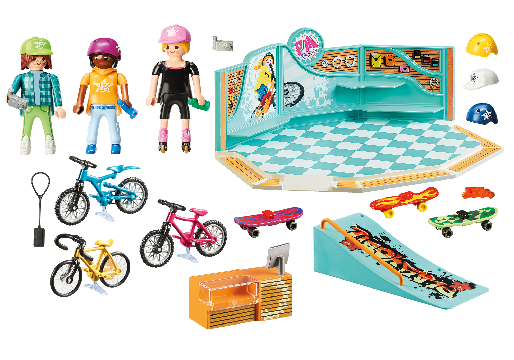 http://media.playmobil.com/i/playmobil/9402_product_box_back/Bike & Skate Shop