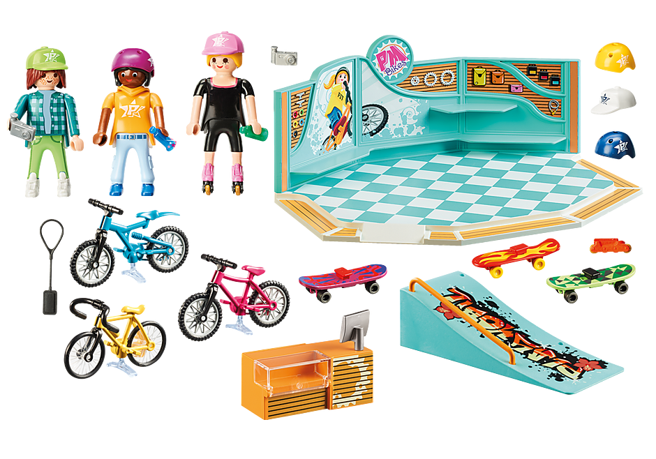 http://media.playmobil.com/i/playmobil/9402_product_box_back/Negozio di skate e biciclette