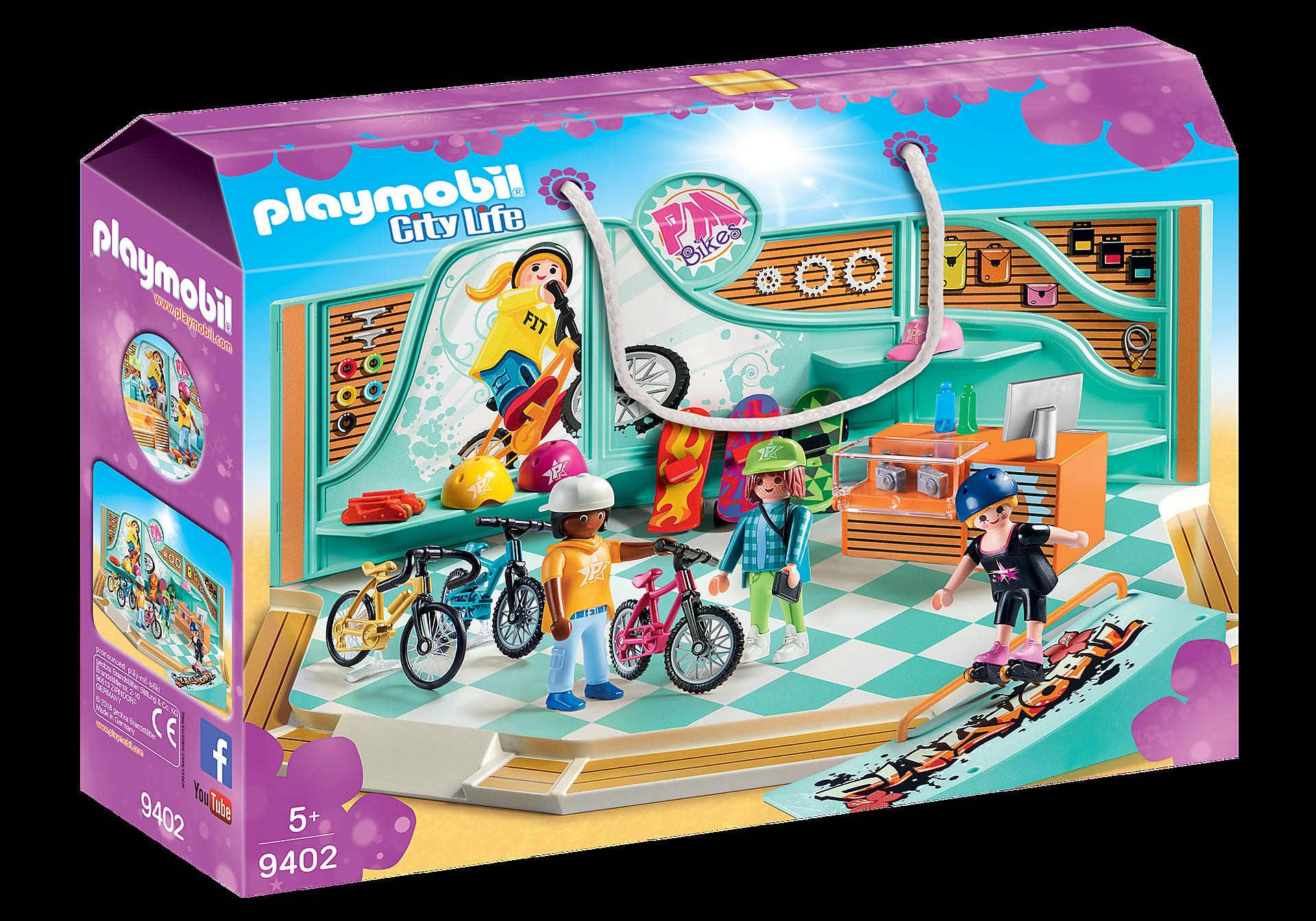 9402 Negozio di skate e biciclette zoom image3