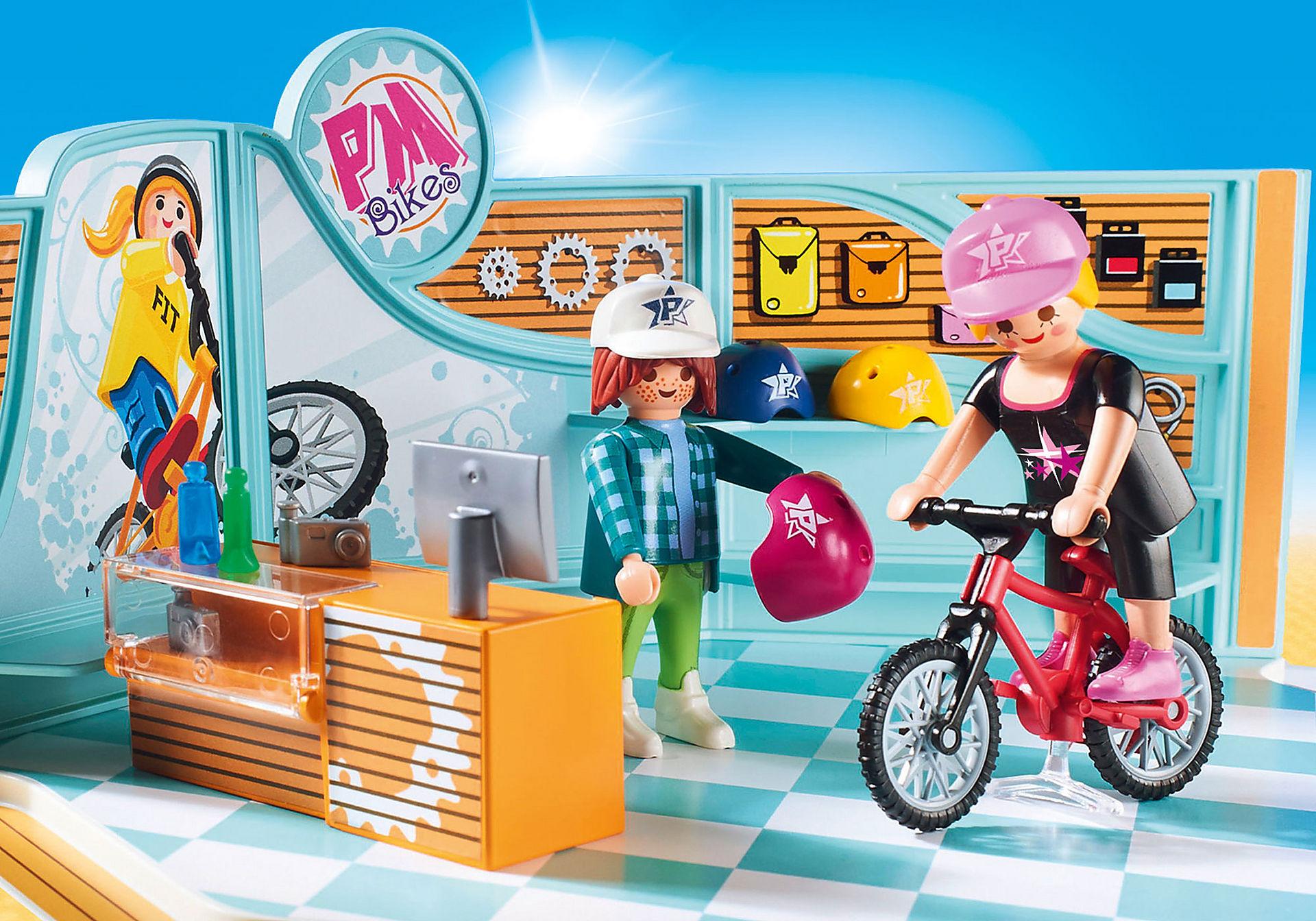 http://media.playmobil.com/i/playmobil/9402_product_extra1/Sklep rowerowy i skateboardowy