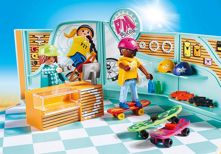 http://media.playmobil.com/i/playmobil/9402_product_extra2/Bike & Skate Shop