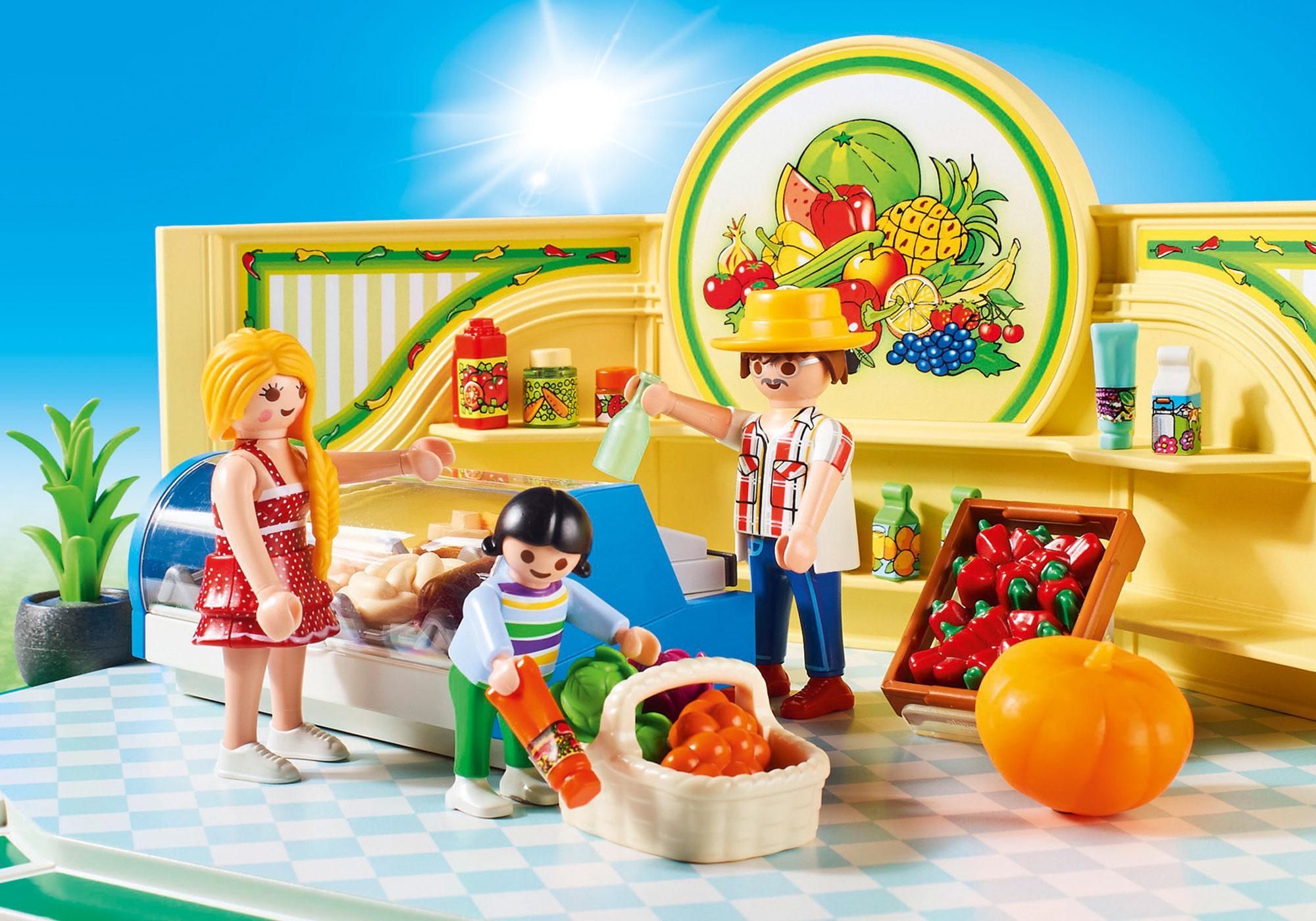 http://media.playmobil.com/i/playmobil/9403_product_extra1/Mercearia de Frutas e Verduras