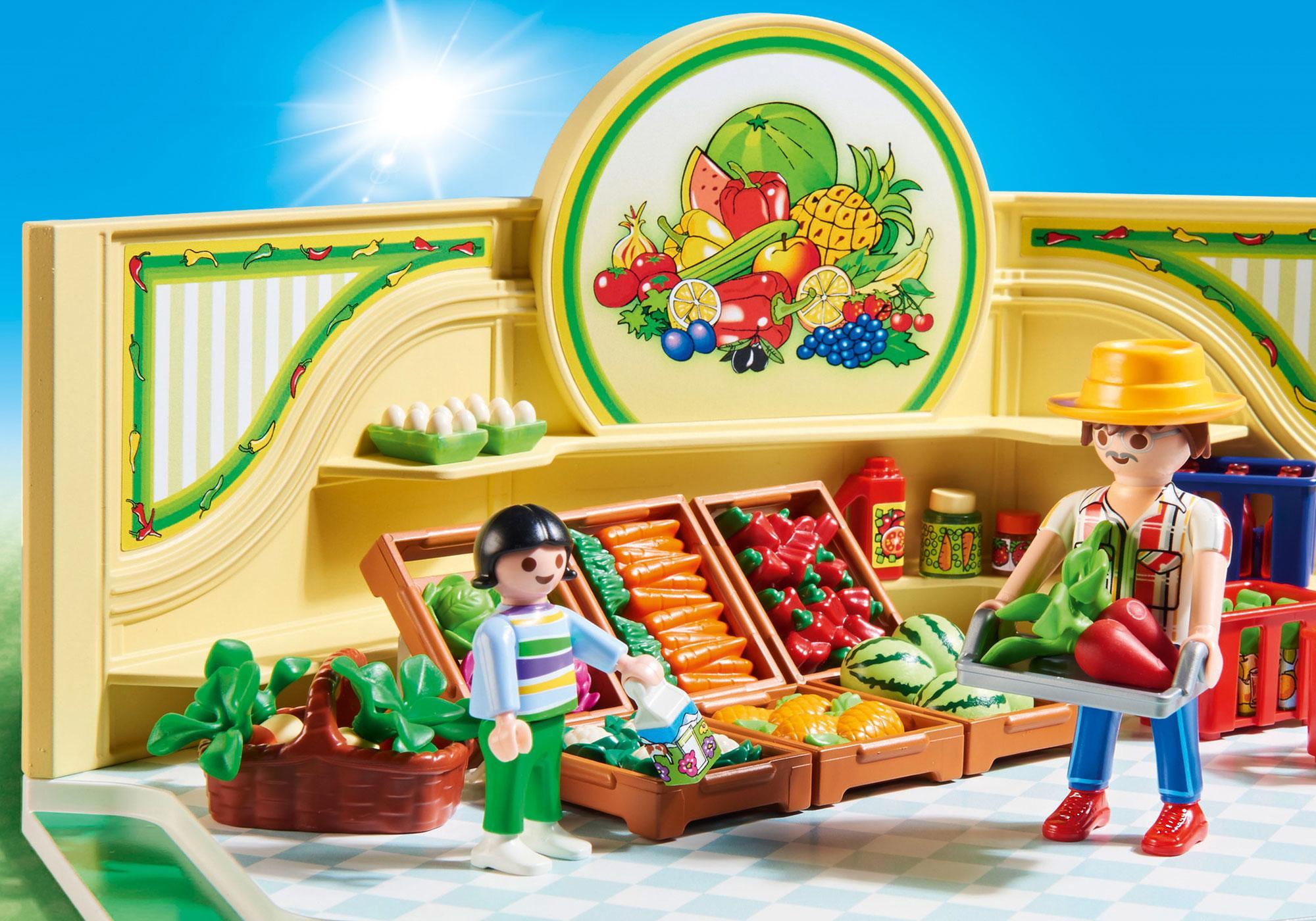 http://media.playmobil.com/i/playmobil/9403_product_extra2/Mercearia de Frutas e Verduras