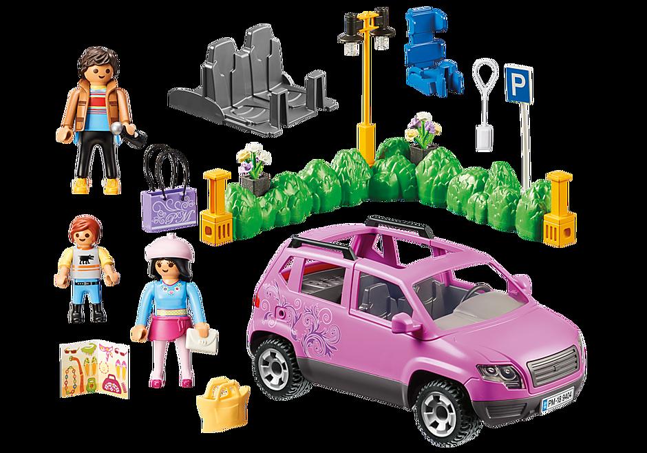9404 Familjebil med parkeringsplats detail image 4