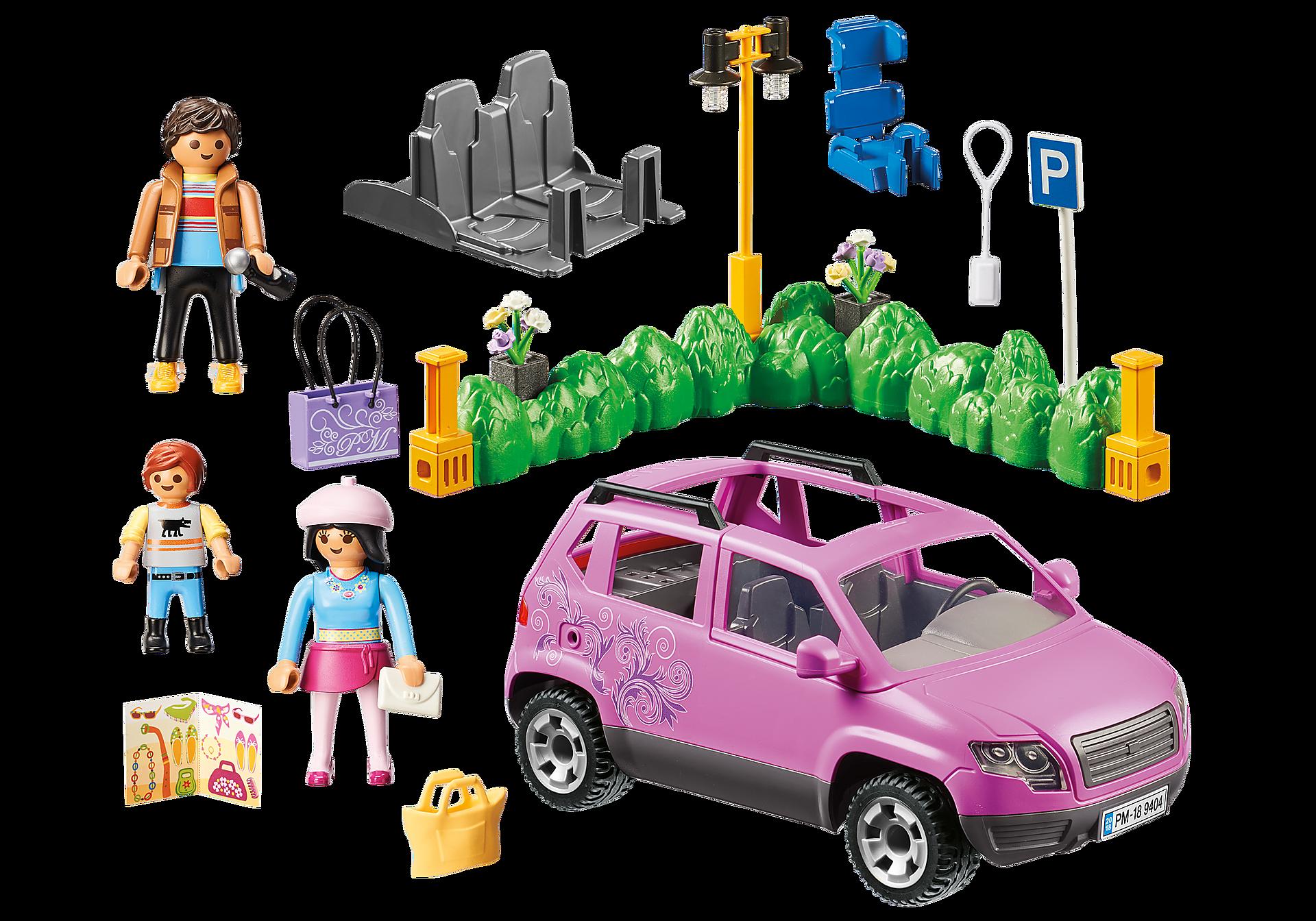 9404 Samochód rodzinny z zatoczką parkingową zoom image4