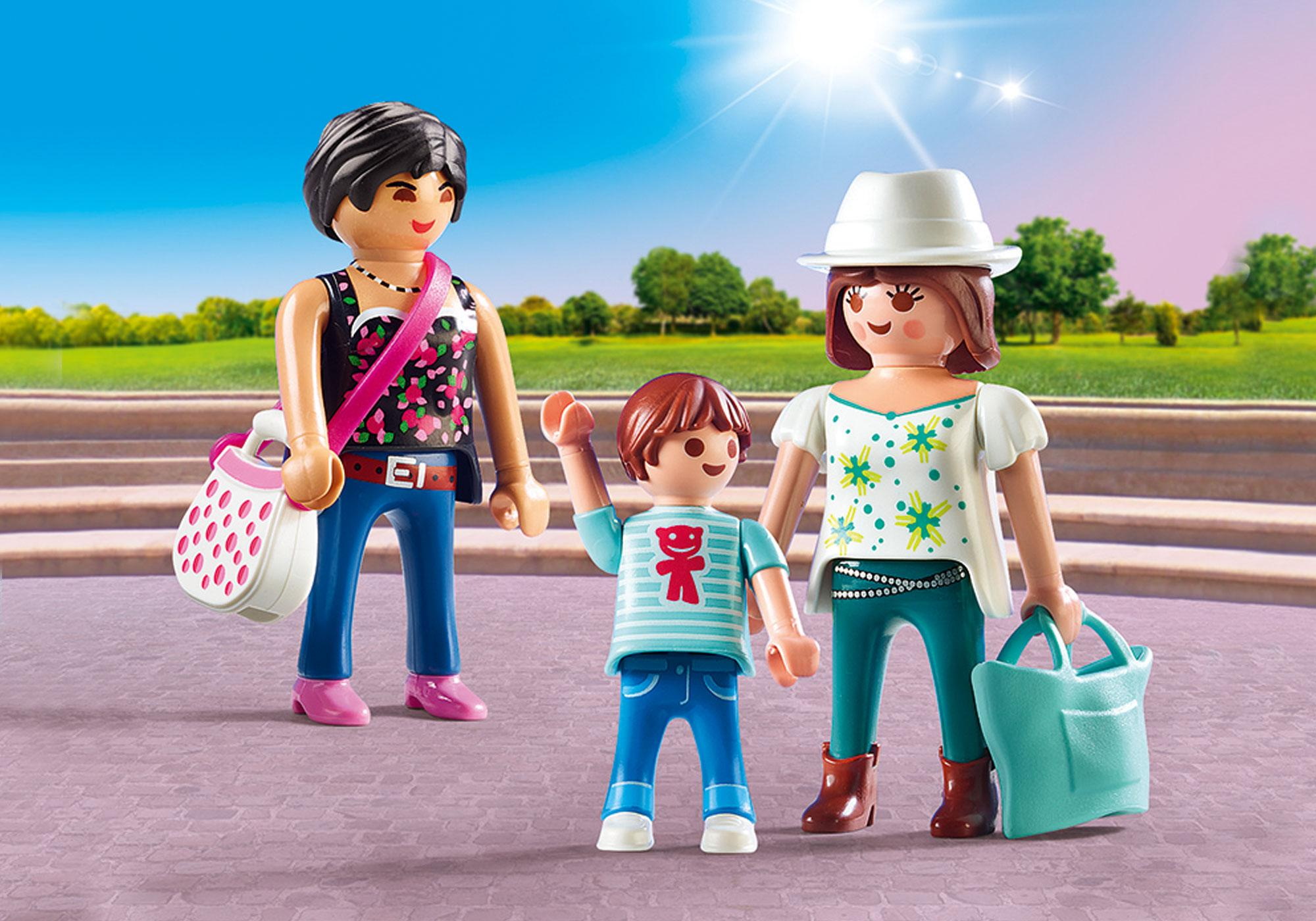http://media.playmobil.com/i/playmobil/9405_product_detail/Mulheres vão às compras com os filhos