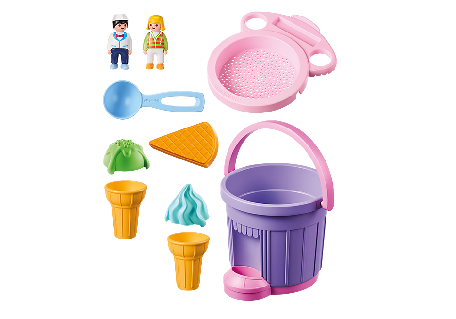 http://media.playmobil.com/i/playmobil/9406_product_box_back/ Stand de glaces avec seau