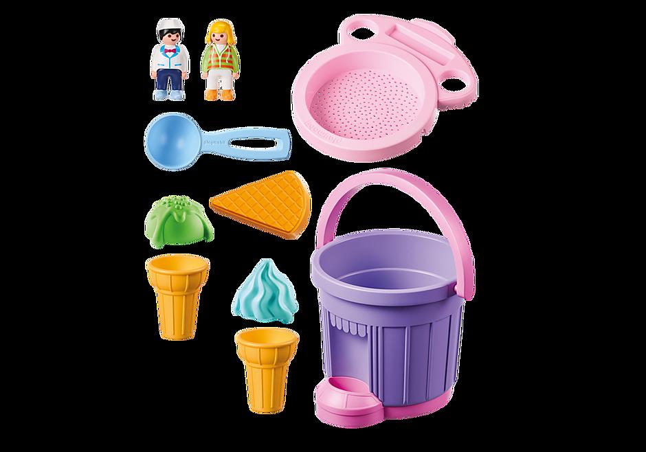 9406 Ice Cream Shop Sand Bucket detail image 4