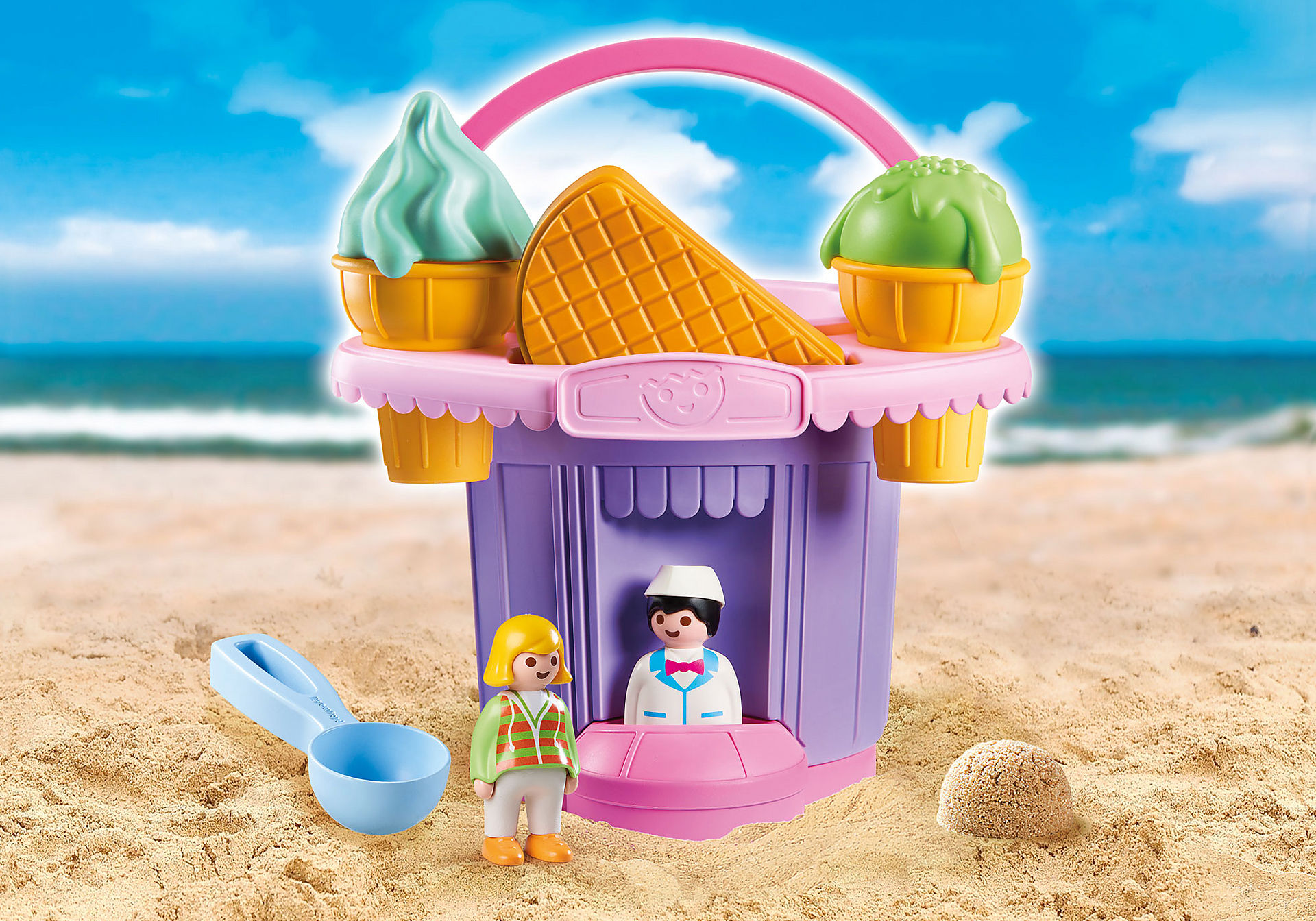 9406 Ice Cream Shop Sand Bucket zoom image1
