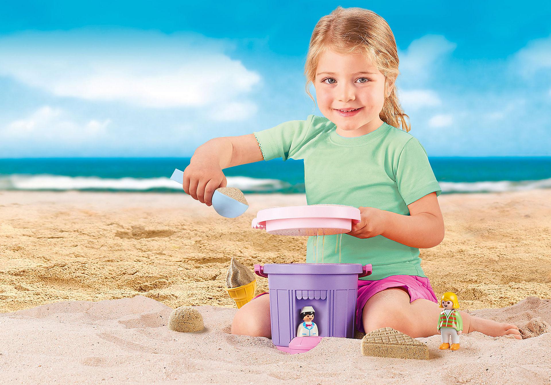 9406 Ice Cream Shop Sand Bucket zoom image5