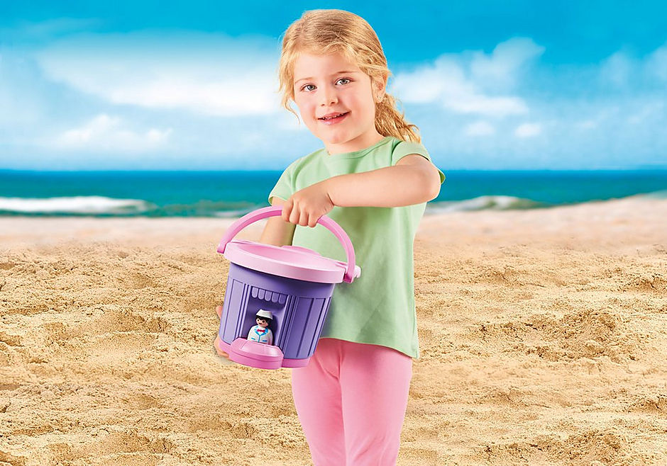 9406 Ice Cream Shop Sand Bucket detail image 7