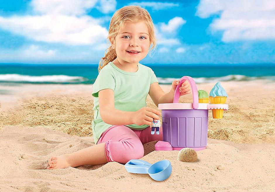 9406 Ice Cream Shop Sand Bucket detail image 9