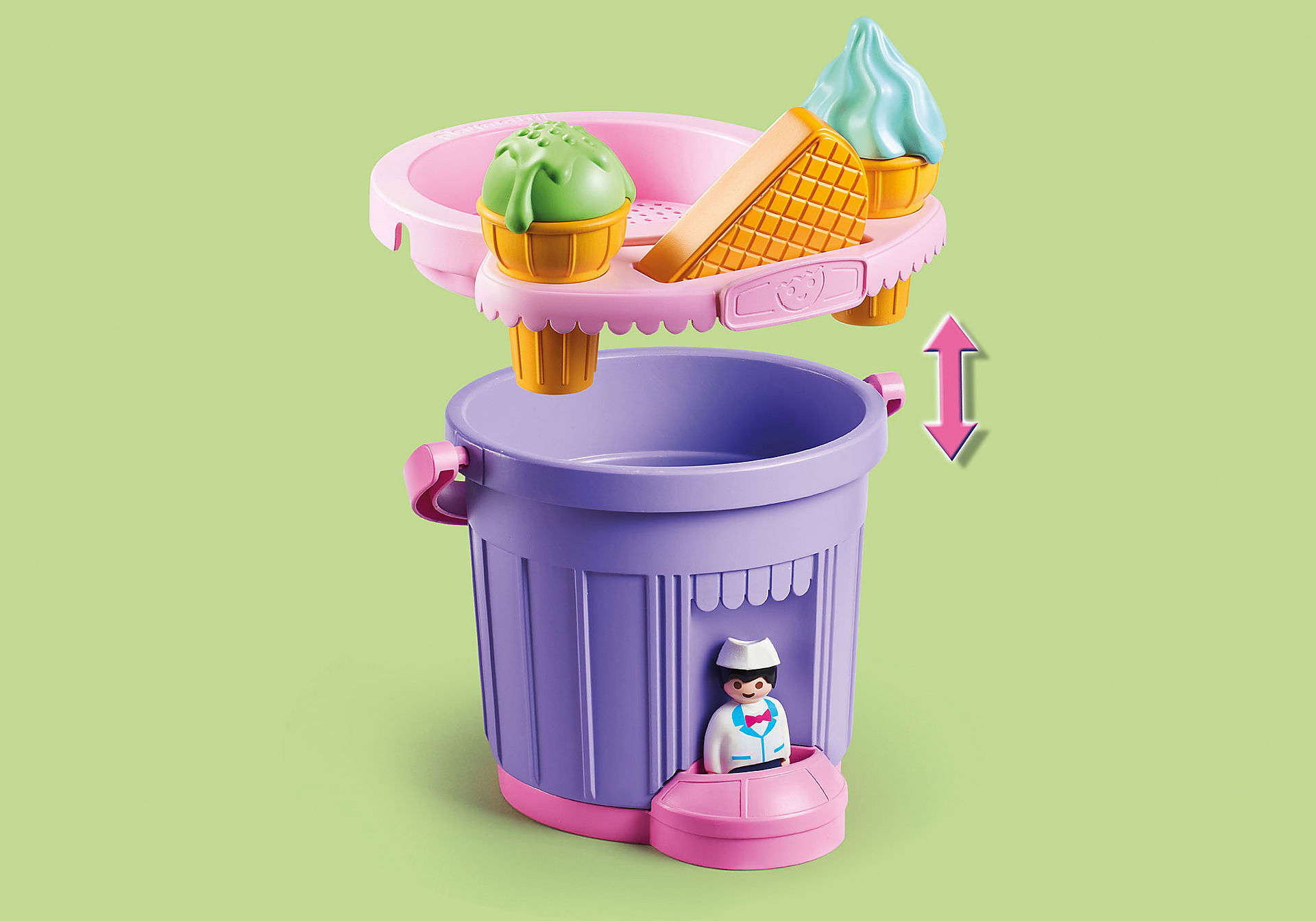 9406 Ice Cream Shop Sand Bucket zoom image10