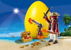 Playmobil Pirate With Cannon 9415
