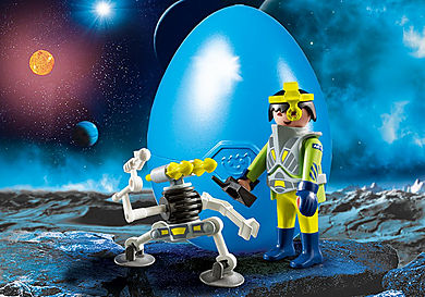 9416 Space-Agent mit Roboter