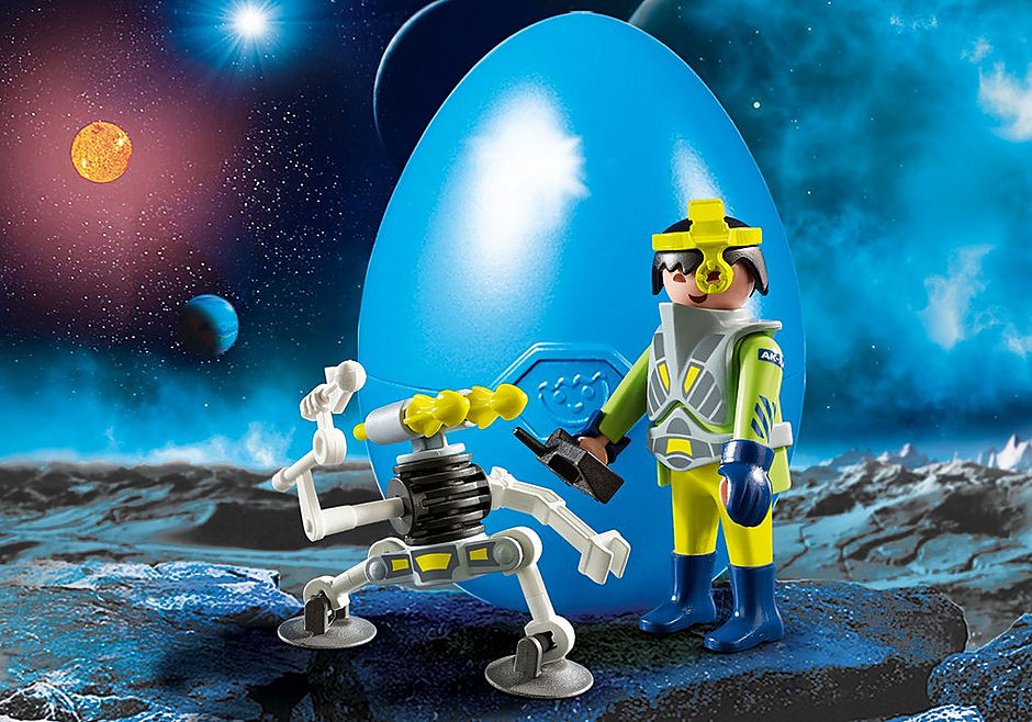 9416 Space-Agent mit Roboter detail image 1