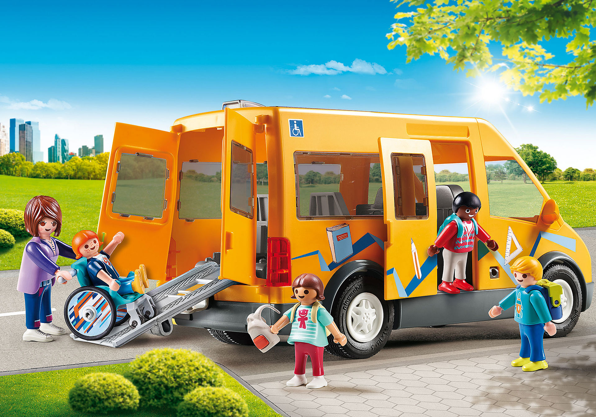 9419 Bus scolaire  zoom image1
