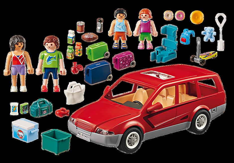 9421 Famille avec voiture  detail image 4