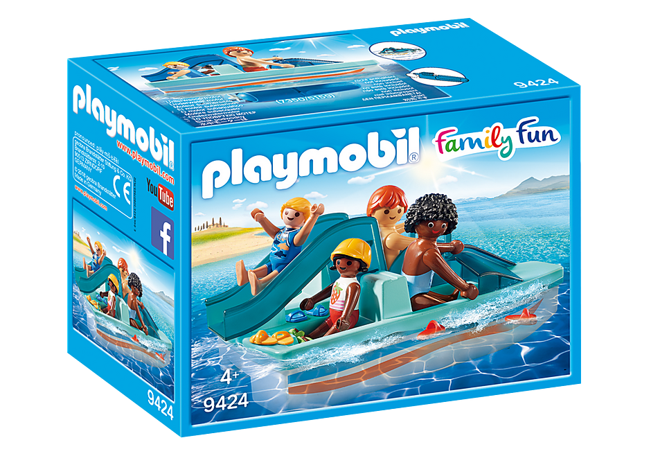 http://media.playmobil.com/i/playmobil/9424_product_box_front/Θαλάσσιο ποδήλατο με τσουλήθρα