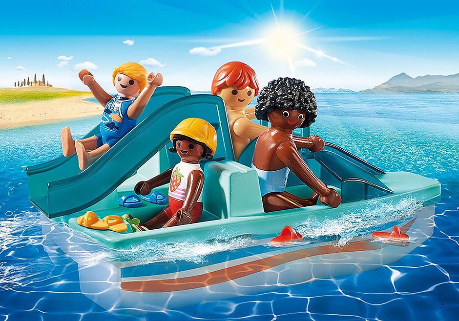 9424 Pedalbåd med dias detail image 1