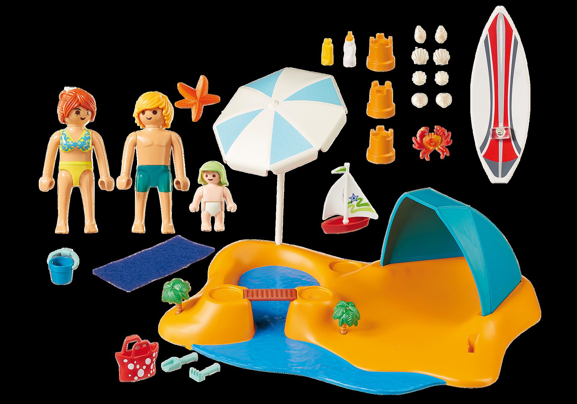 9425 Familj på stranden zoom image4