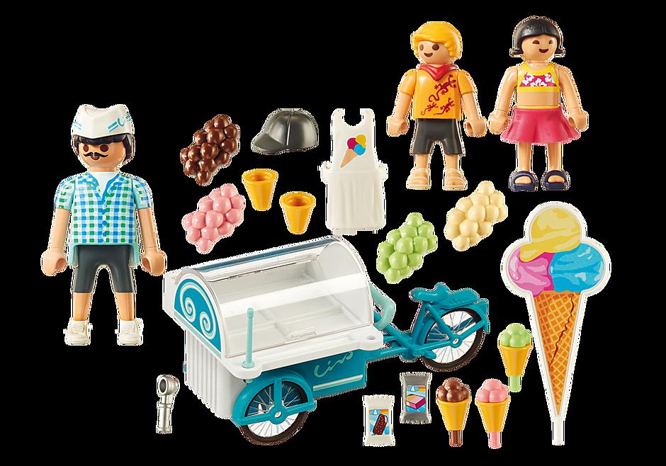 9426 Carretto dei gelati detail image 4