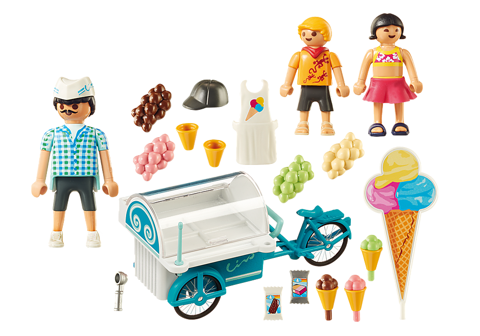 9426 Ice Cream Cart detail image 4