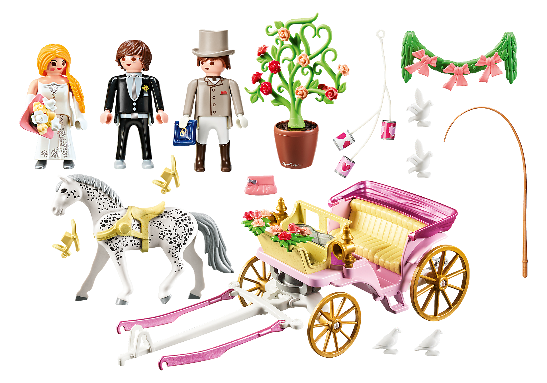 http://media.playmobil.com/i/playmobil/9427_product_box_back/Carrosse et couple de mariés