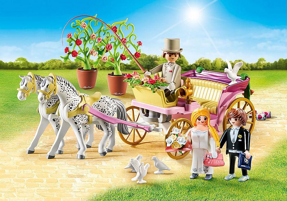 9427 Hochzeitskutsche detail image 1