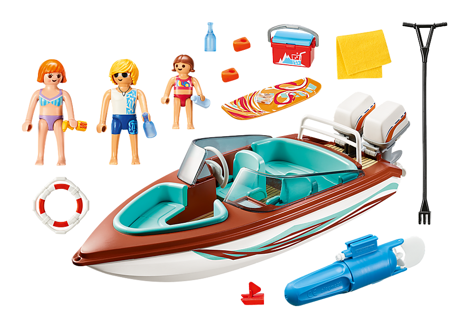 9428 Lancha com motor subaquático detail image 4
