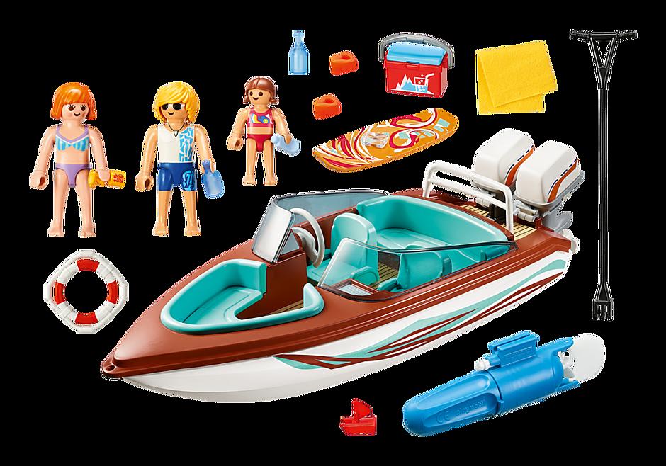 9428 Motorboot mit Unterwassermotor detail image 4