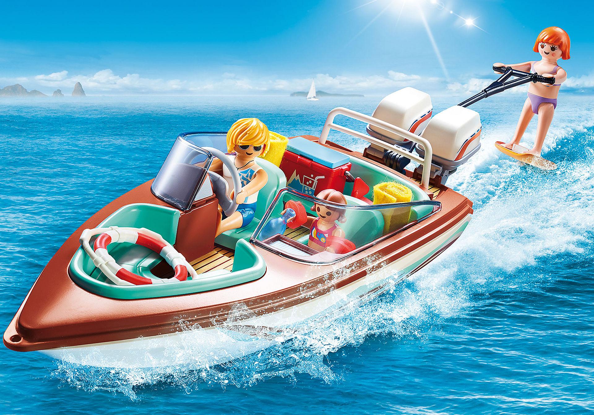 9428 Lancha Motora con motor submarino zoom image1