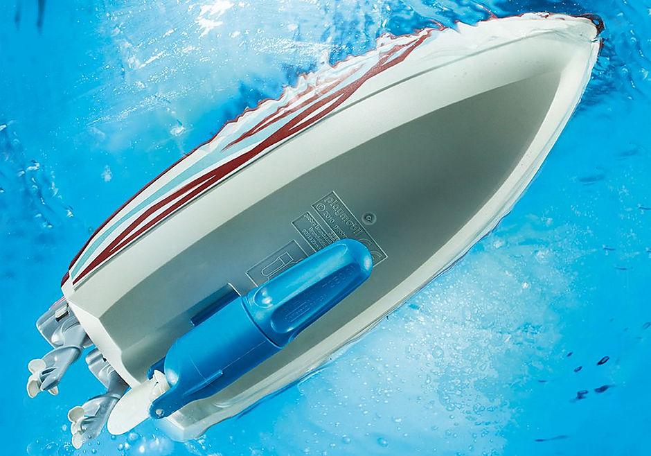 9428 Lancha Motora con motor submarino detail image 5