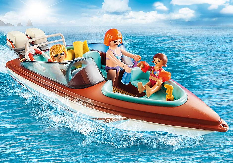 9428 Lancha Motora con motor submarino detail image 6