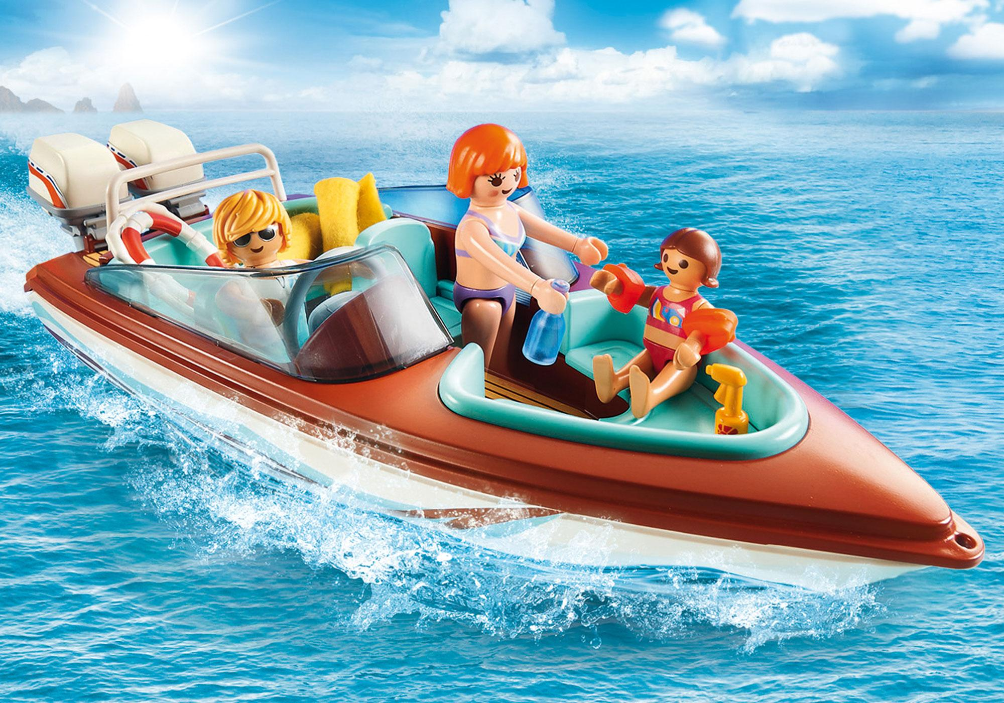 Motorboot Mit Unterwassermotor 9428 Playmobil Deutschland